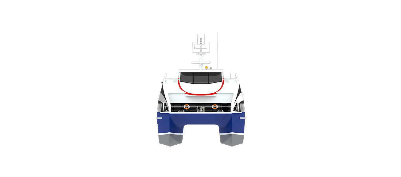 FAST PASSENGER FERRY FOR INTERNATIONAL VOYAGES