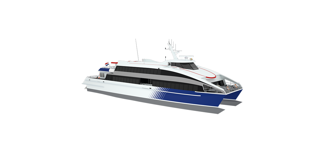 Efficient and proven catamaran design