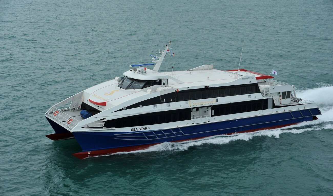 "Damen Fast Ferry 4212 ""Sea Star 5"""