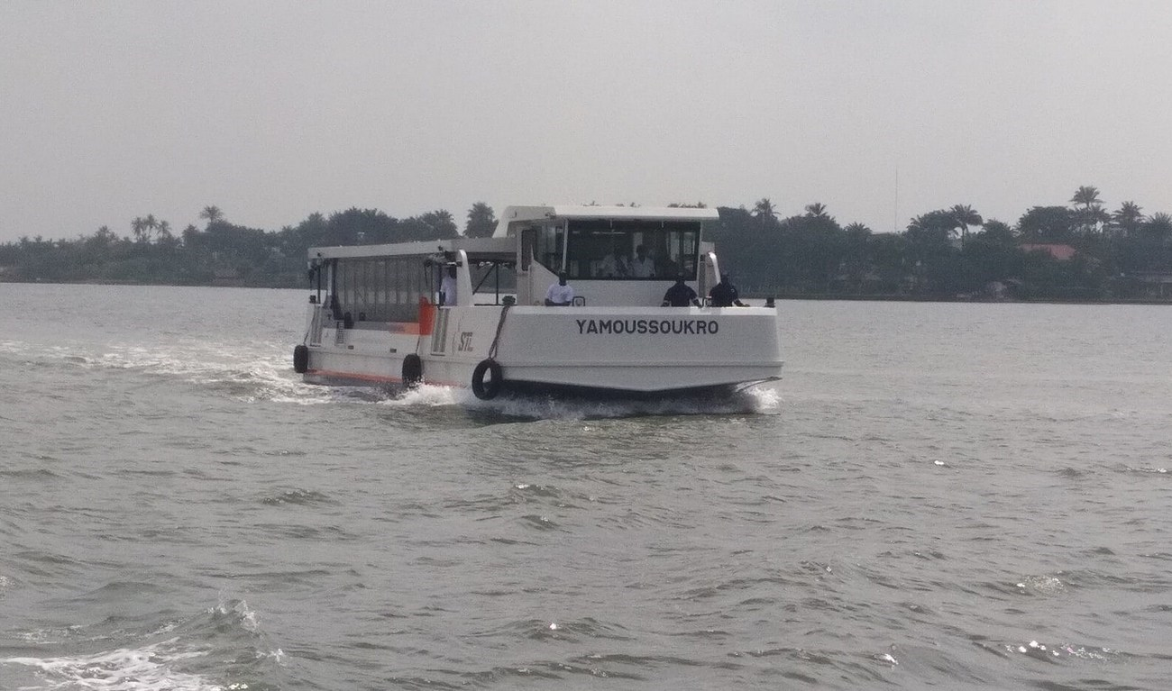 In the autumn of 2016 Damen Shipyards Group signed a contract to build sixteen shallow-draft passenger ferries for Société de Transport Lagunaire (STL) in the Ivory Coast.