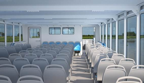 Damen Ferry 1806 Interior Fore