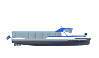 damen ferry 2306 e3 side view