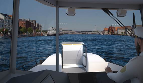 Ergonomically designed wheelhouse