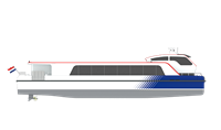 Damen water buses can be deployed as taxis, sightseeing boats, commuter ferries, for dinner cruises and many other uses