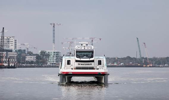 Fifth Damen Waterbus delivered to Aqualiner