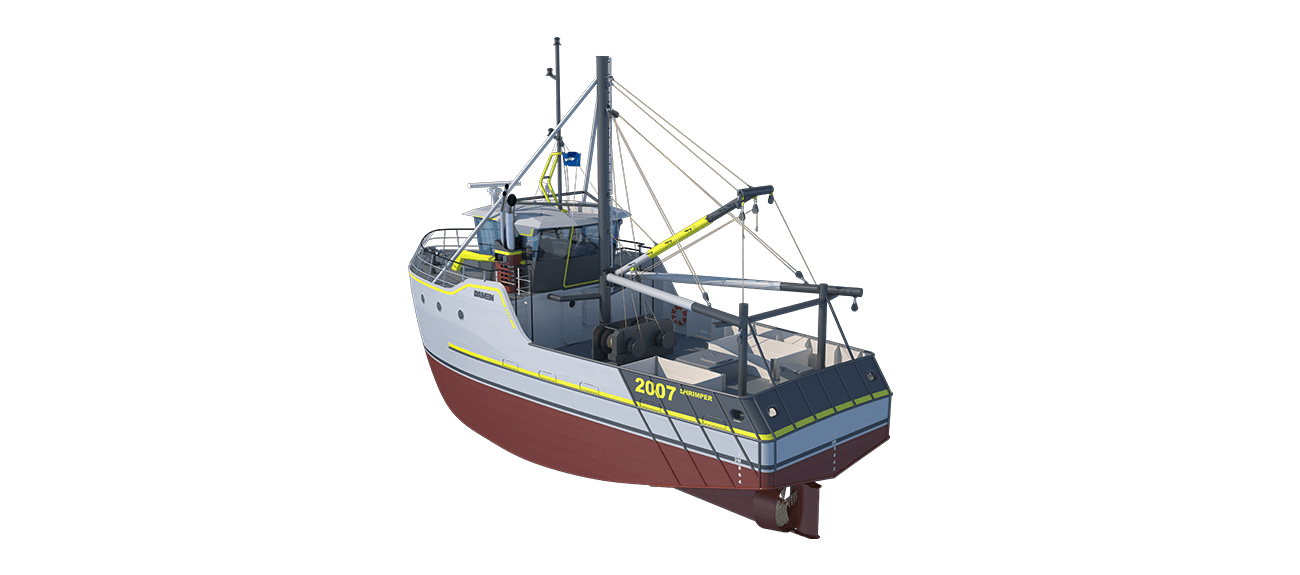 Sea Fisher 2007 - Shrimper perspective aft PS