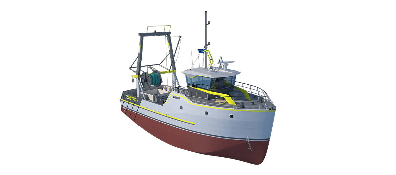 Sea Fisher 2007 - Stern Trawler perspective front SB