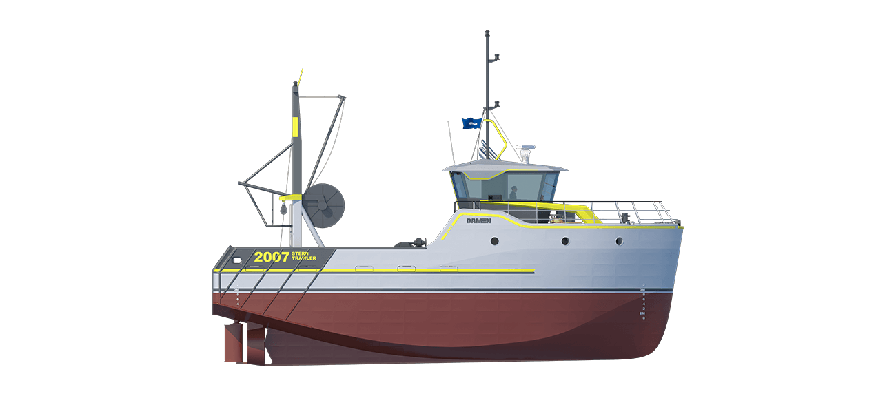 Sea Fisher 2007 - Stern Trawler sideview