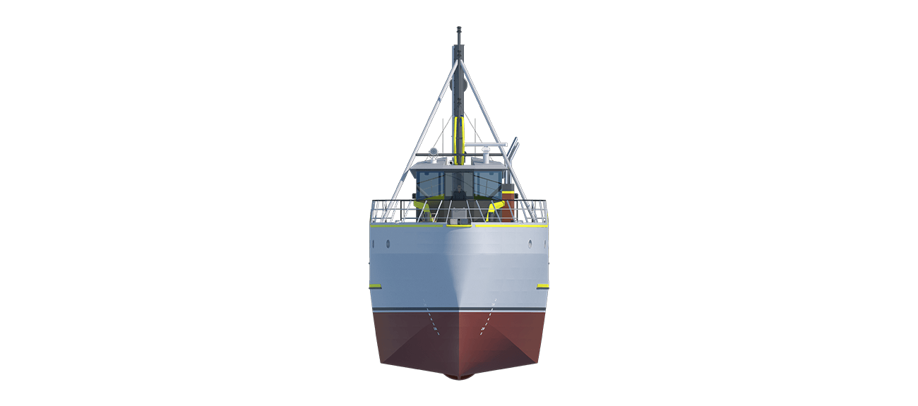 Damen Sea Fisher 2608 - Purse Seiner front view