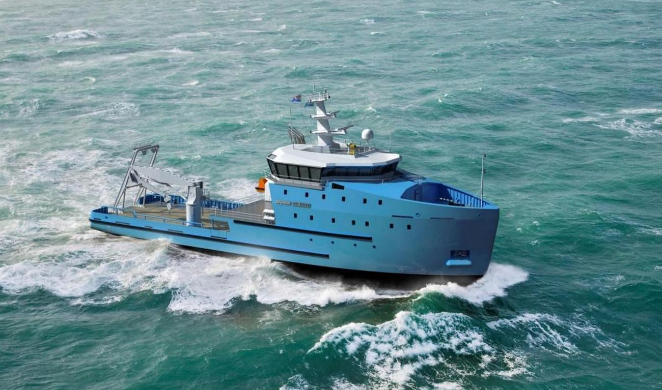 The Utility Vessel Series complements Damen's range of heavy duty workboats and offshore vessels