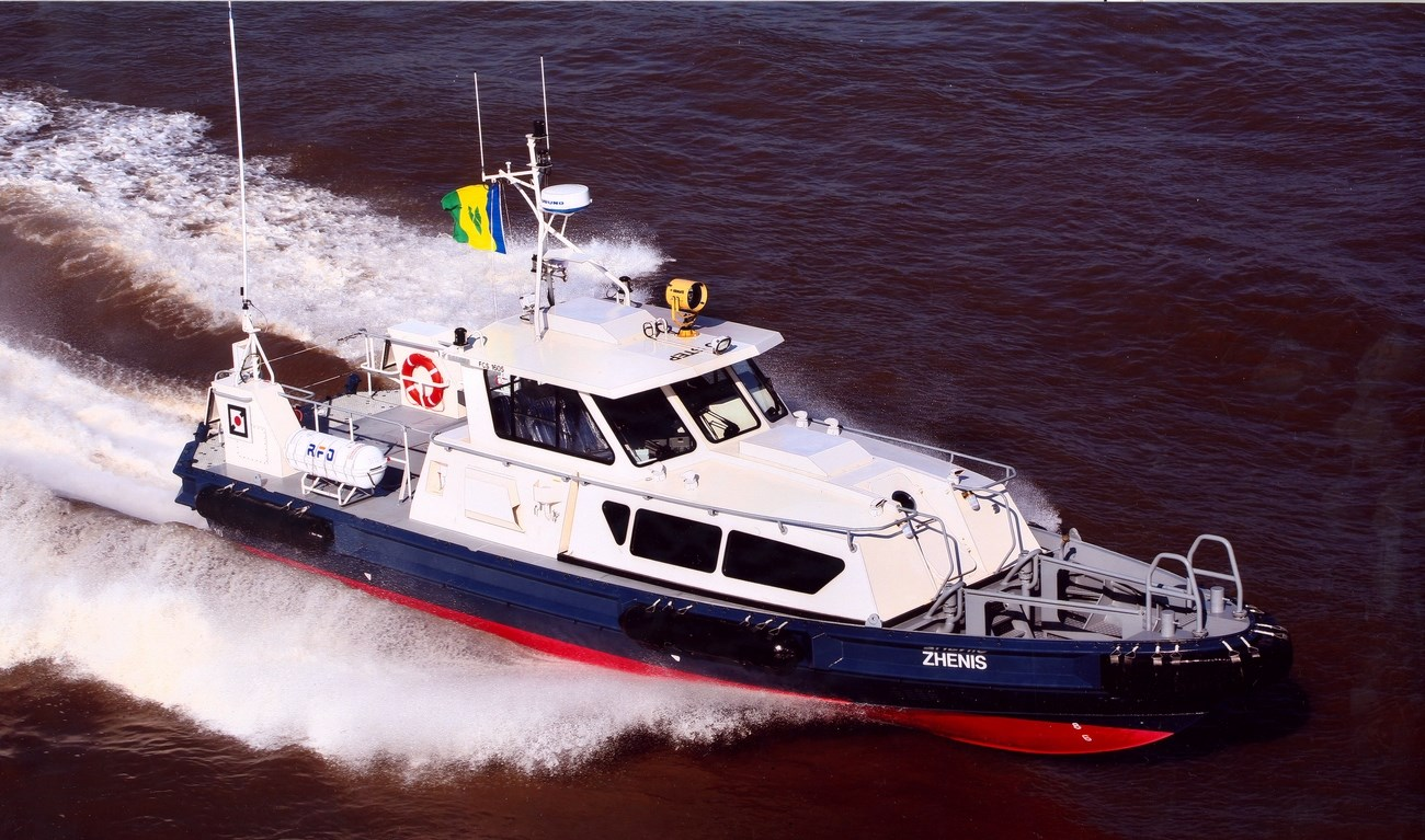'Sea Falcon II' joined the growing fleet of the National Marine Dredging Company in Abu Dhabi