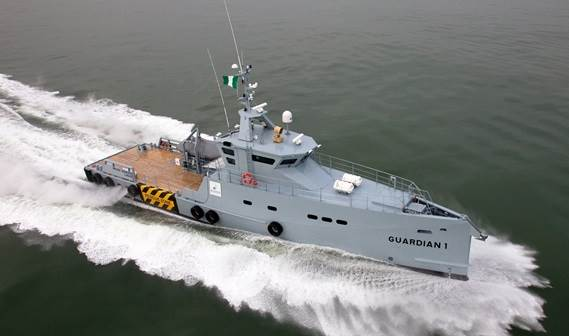The Damen FCS 3307 Patrol, to be named 'Guardian 1', has just undergone sea trials in the Netherlands