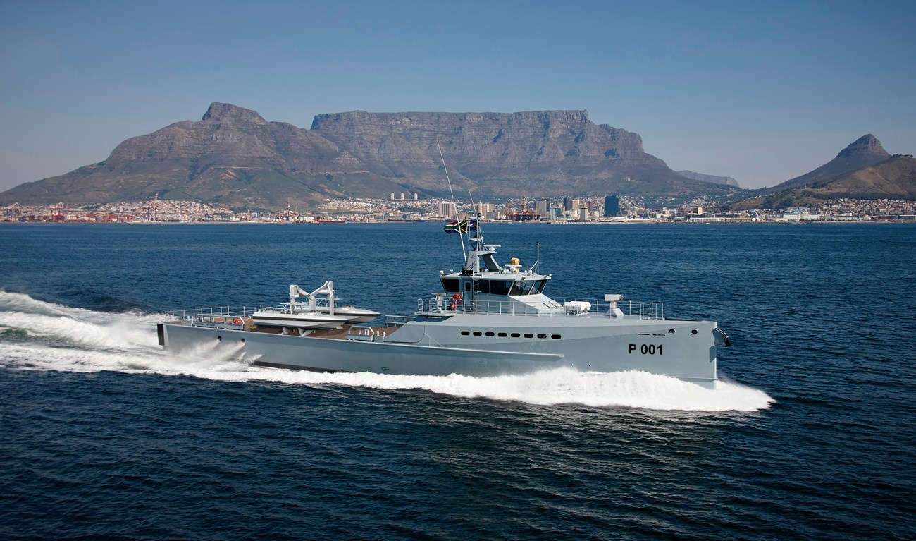 Damen Shipyards Cape Town (DSCT) has completed the build of two FCS 5009 Patrol vessels