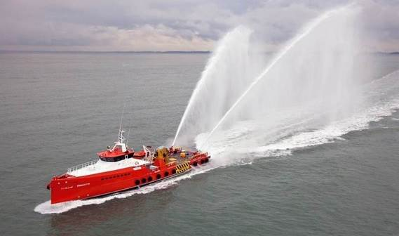 Following the successful delivery of a series of four Damen Fast Crew Suppliers 5009 to Abu Dhabi National Oil Company