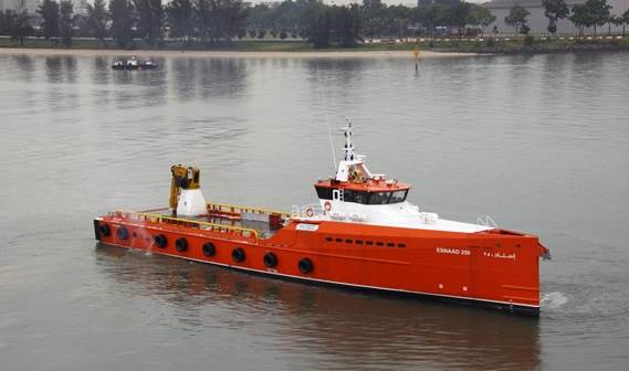 series of four Damen Fast Crew Suppliers 1605 to Abu Dhabi National Oil Company