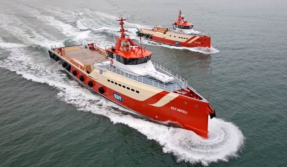 THIS VESSEL IS HIGHLY FUEL EFFICIENT AND FULLY EQUIPPED FOR ITS ROLE