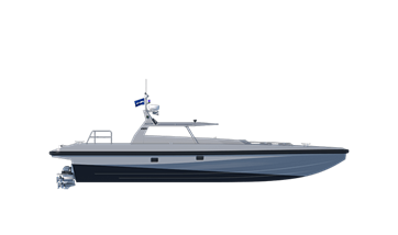 Damen Interceptors are rugged workboats, not upgraded and grey painted pleasure boats