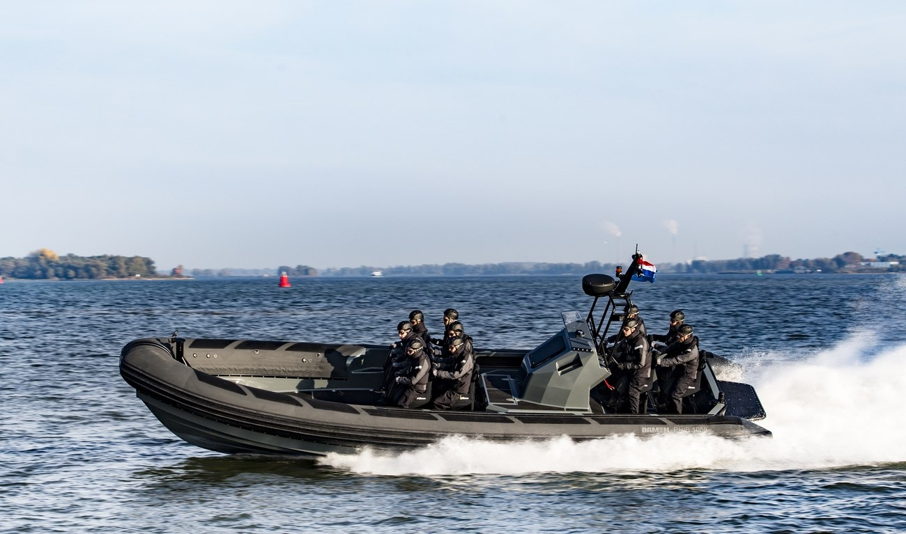 Speed and extreme maneuverability are the obvious criterion for the RHIB and this vessel is the best choice for anti-smuggling or interception duties.