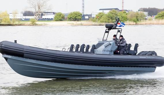 High speed Damen Rigid Hull Inflatable Boat