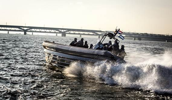 The Damen RHIB 1050: a package of ergonomics, safety and performance