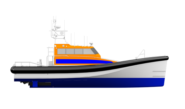 search and rescue vessel 3r rendering