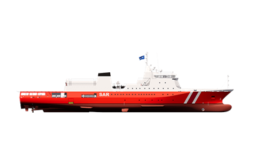damen search and rescue 2500