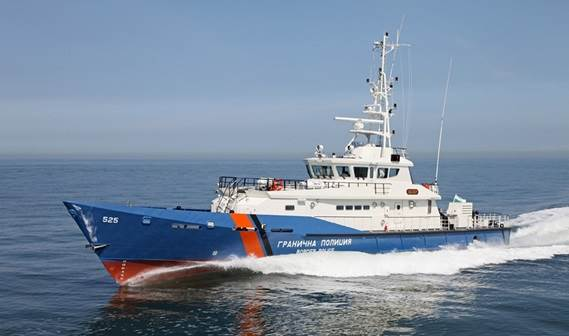 Built at Damen Shipyards Gorinchem, the Stan Patrol 4207 'Obzor' was delivered to the Bulgarian border police