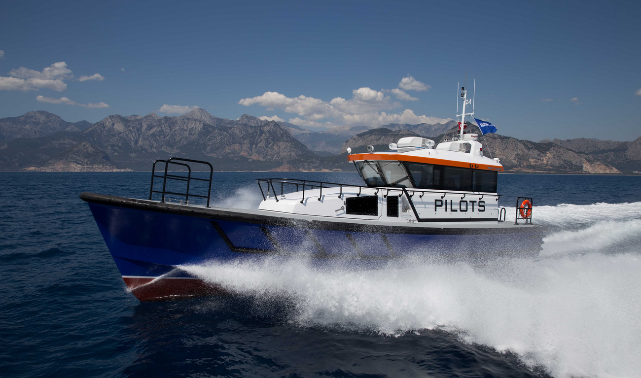 Damen has ensured these vessels are completely optimised for pilotage in harbours and coastal waters