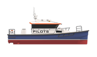 Flexible design can incorporate different propulsion and wheelhouse layouts.