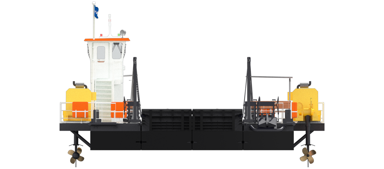 Modular ferry for forging connections