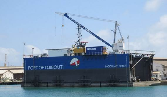 Modular Floating Drydock 5020