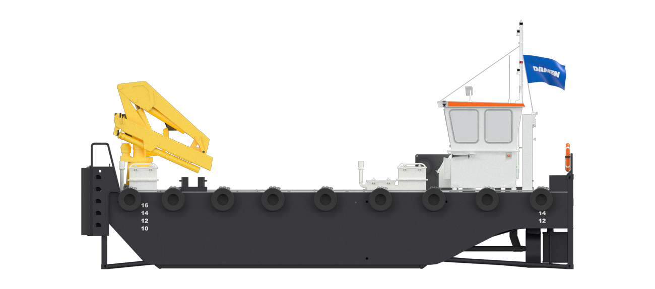 Modular Multi Cat for towing and pushing operations
