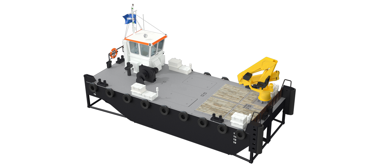 Modular Multi Cat for anchor handling services