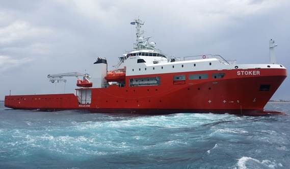 SOLAS vessel providing submarine support and rescue services