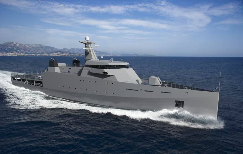 Damen's unique and succesfull Sea Axe hull design is used for the new generation
