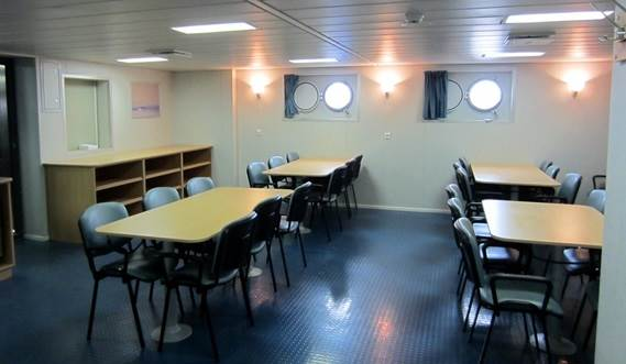 The Damen Offshore Patrol Vessel 2400 - crew mess