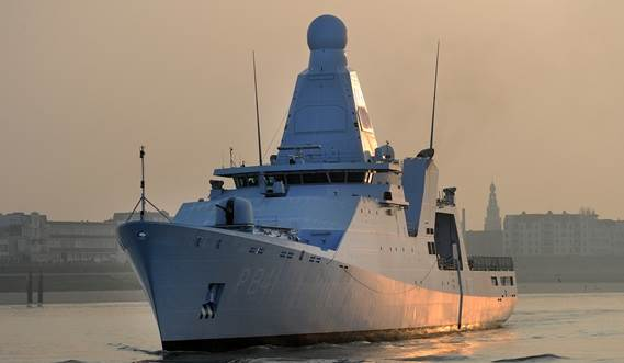 Holland class ocean going patrol vessel 3750