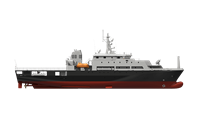 Multi-role training platform and support vessel