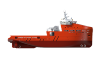 he vessels may be optionally fitted with: Fire Fighting, Oil Recovery and high class Dynamic Positioning installations.