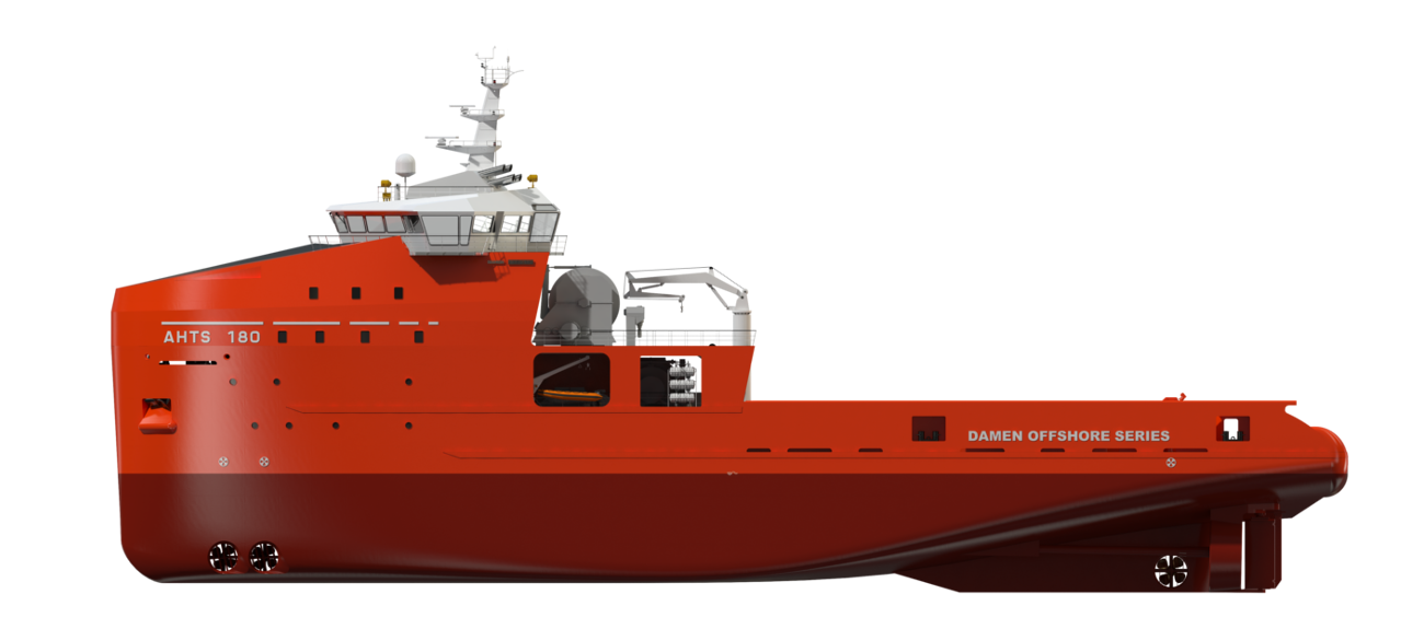 IDEAL FOR ANCHOR HANDLING OPERATIONS