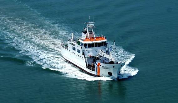 The vessel may be optionally fitted with additional equipment as survey, fire fighting and high class dynamic positioning equipment.