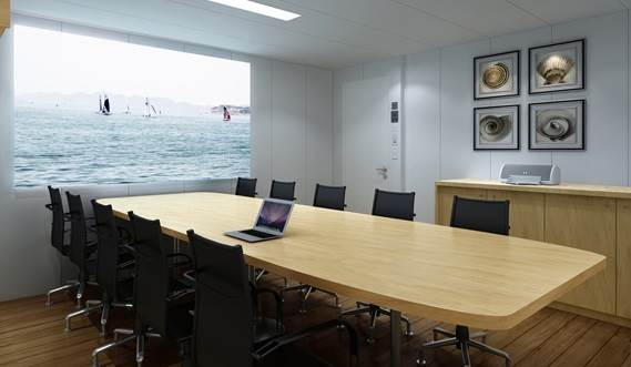 Offshore Carrier CLV meeting room