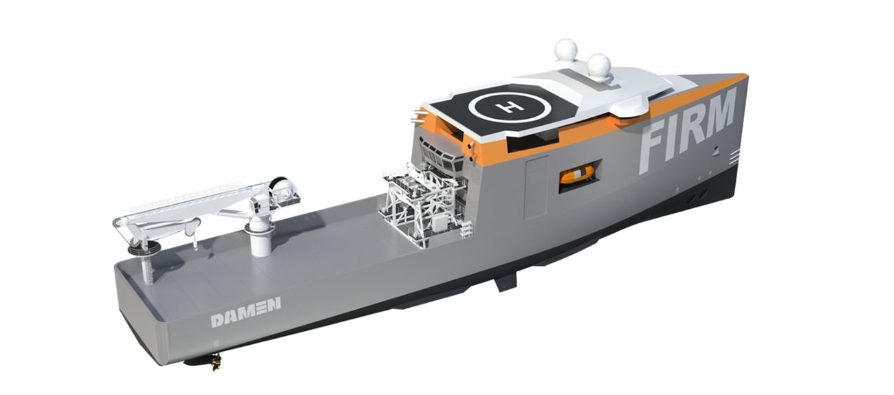 The vessel is specifically designed for rapid response to and effective management of IRM situations.