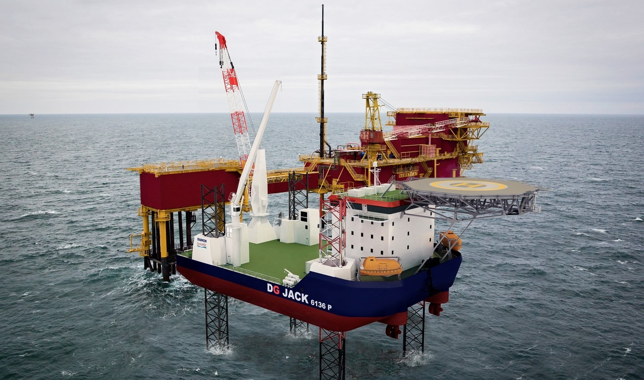 All units of the JACK range can operate at a high waterdepth under all operational conditions