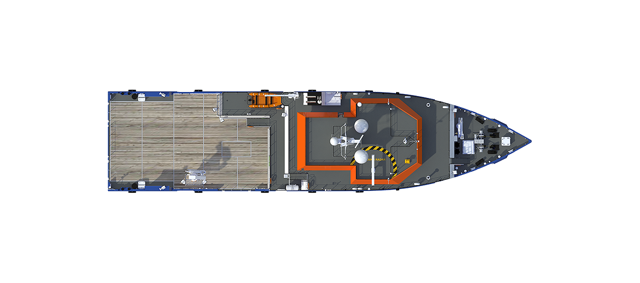Multi Purpose vessel is adaptable for a wide range of offshore related tasks