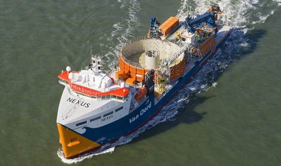 First delivery of Damen's new design: the DOC 8500 Cable Layer