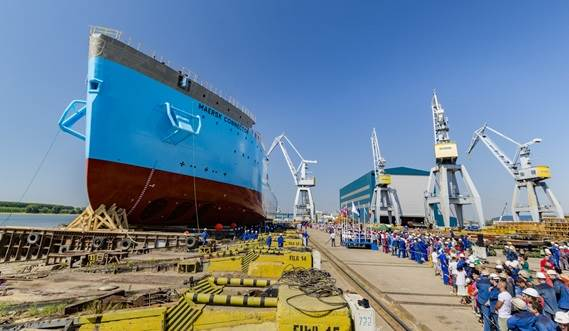Maersk Connector is the second of a new generation of cable-laying vessels developed by the Damen Shipyards Group
