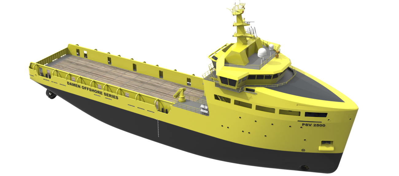 he vessels may be optionally fitted with: Fire Fighting, Oil Recovery and/or high class Dynamic Positioning installations.