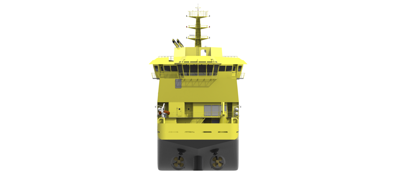 The Damen Platform Supply Vessel is a highly efficient, large-capacity ship, especially suited for transport of crew and supplies to and from offshore structures.