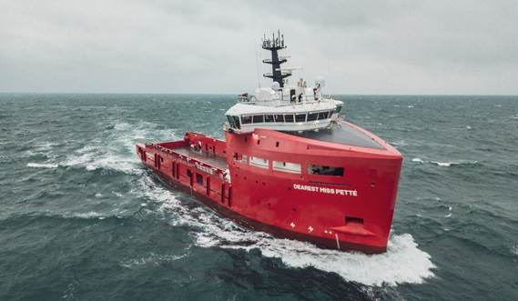 Platform Supply Vessel 'Dearest Miss Pette'
